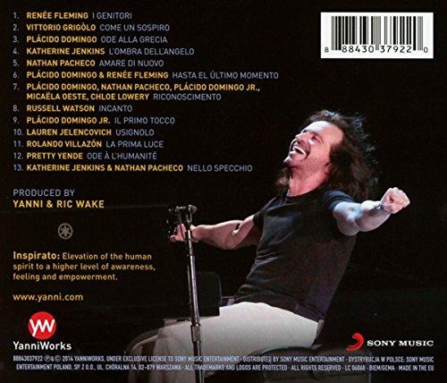 دانلود آلبوم Inspirato از یانی